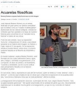 Opinion A Coruña Arte Imagen