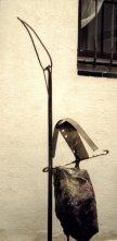 Guerrero, escultura de Juan Manuel Alvarez Romero, Mané