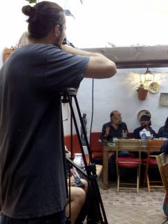 Presentación Poemario de Juan Mnauel Alvarez Romero con Jukio Conejo