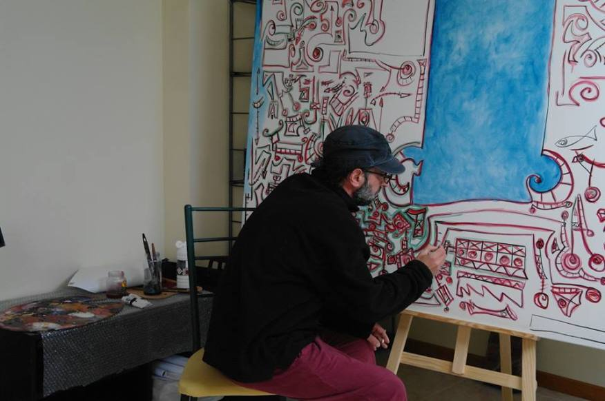 Estudio en Santiago de Compostela, Juan Manuel Alvarez Romero, Mané