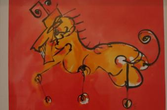 Hombre Caballo de circo, Munich.- Juan Mnauel Alvarez Romero, Mané