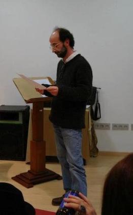 Liceo de Malaga, Lectura de Juan Manuel Alvarez Romero, Mané