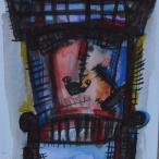 acuarela-sobre-papel-23x31-mascaras