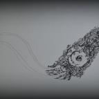 dibujo-con-plumilla-sobre-papel